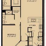 Chesapeake: 2x2; 1,174 square feet